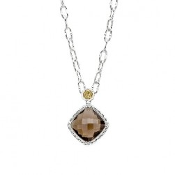 SN13517 Tacori 18k925 Necklace Silver & Gold