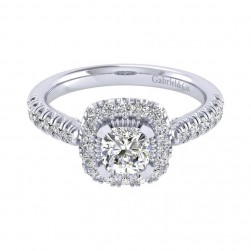 Gabriel 14 Karat Perfect Match Engagement Ring ER039B3AJW44JJ