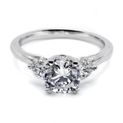 Tacori Platinum Simply Tacori Engagement Ring HT2311