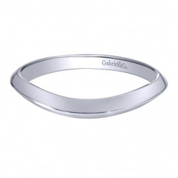 Gabriel 14 Karat Contemporary Wedding Band WB10433W4JJJ