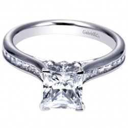 Gabriel 14 Karat Contemporary Engagement Ring ER8859W44JJ