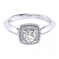 Gabriel 14 Karat Perfect Match Engagement Ring ER001A2ABW44JJ