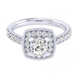 Gabriel 14 Karat Perfect Match Engagement Ring ER039B4AKW44JJ