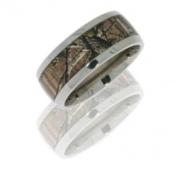 Lashbrook 10D16/RTAPG POLISH Titanium Wedding Ring or Band