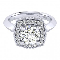 Gabriel 14 Karat Perfect Match Engagement Ring ER001C8ABW44JJ