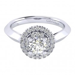 Gabriel 14 Karat Perfect Match Engagement Ring ER001B3AIW44JJ