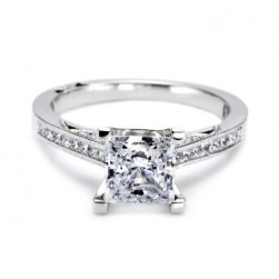 Tacori Platinum Simply Tacori Engagement Ring 2576PR65