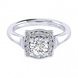 Gabriel 14 Karat Perfect Match Engagement Ring ER009B3AAW44JJ
