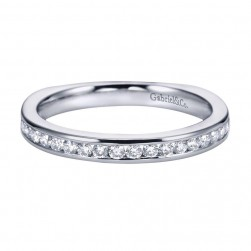 Gabriel 14 Karat Contemporary Wedding Band WB6655W44JJ