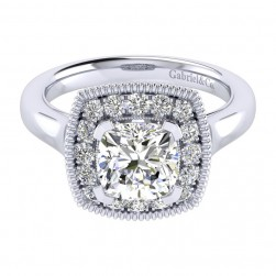Gabriel 14 Karat Perfect Match Engagement Ring ER009C8AKW44JJ