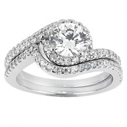 Taryn Collection 18 Karat Diamond Engagement Ring TQD A-7921