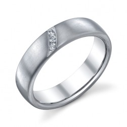243459 Christian Bauer Platinum Diamond  Wedding Ring / Band