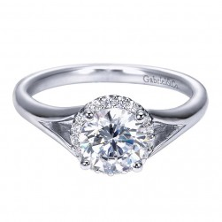 Gabriel 14 Karat Contemporary Engagement Ring ER7807W44JJ