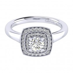 Gabriel 14 Karat Perfect Match Engagement Ring ER009A2AGW44JJ