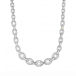 SN191 Tacori Ivy Lane Silver & Gold Necklace