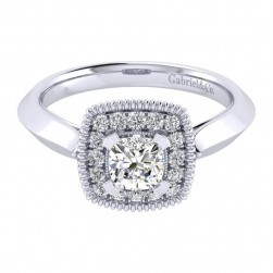 Gabriel 14 Karat Perfect Match Engagement Ring ER001B3AKW44JJ
