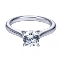 Gabriel 14 Karat Contemporary Engagement Ring ER6685W4JJJ