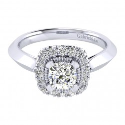 Gabriel 14 Karat Perfect Match Engagement Ring ER001B4AJW44JJ