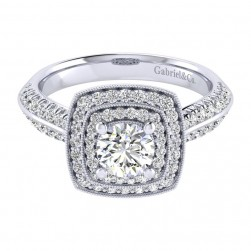 Gabriel 14 Karat Perfect Match Engagement Ring ER002B3AGW44JJ