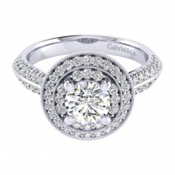 Gabriel 14 Karat Perfect Match Engagement Ring ER002B4AHW44JJ