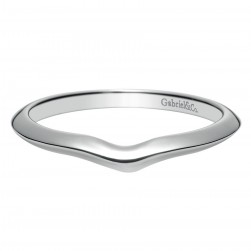 Gabriel 14 Karat Contemporary Wedding Band WB8421W4JJJ