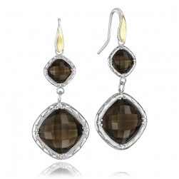 SE118Y17 Tacori 18k925 Silver & Gold Earrings