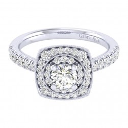 Gabriel 14 Karat Perfect Match Engagement Ring ER039A2AFW44JJ