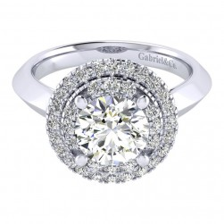Gabriel 14 Karat Perfect Match Engagement Ring ER001C8AIW44JJ