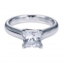Gabriel Platinum Contemporary Engagement Ring ER6607PTJJJ