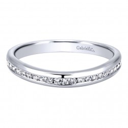 Gabriel 14 Karat Contemporary Wedding Band WB911772R0W44JJ