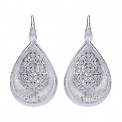 Gabriel Fashion Silver Madison Leverback Earrings EG12312SV5JJ