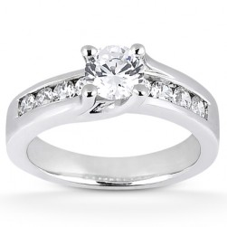 Taryn Collection 18 Karat Diamond Engagement Ring TQD 3777