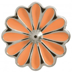 Endless Jewelry Coral Daisy Sterling Silver Charm 41255-4