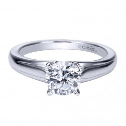Gabriel 14 Karat Contemporary Engagement Ring ER8075W4JJJ