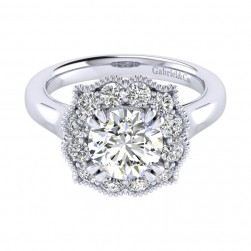Gabriel 14 Karat Perfect Match Engagement Ring ER009C8ACW44JJ