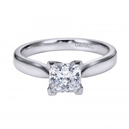 Gabriel Platinum Contemporary Engagement Ring ER6595PTJJJ