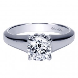 Gabriel 14 Karat Contemporary Engagement Ring ER9031W44JJ