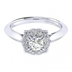 Gabriel 14 Karat Perfect Match Engagement Ring ER001A2ACW44JJ