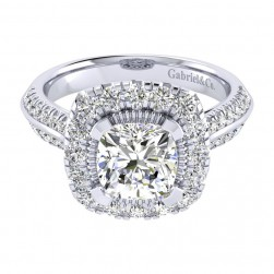 Gabriel 14 Karat Perfect Match Engagement Ring ER002C8AJW44JJ