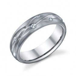 245400 Christian Bauer Platinum Diamond  Wedding Ring / Band