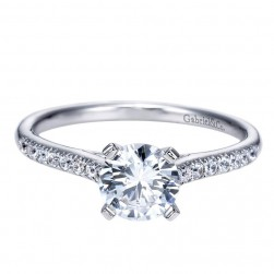 Gabriel 14 Karat Contemporary Engagement Ring ER7988W44JJ