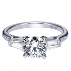 Gabriel 14 Karat Contemporary Engagement Ring ER8880W44JJ