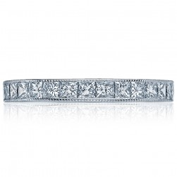 Tacori 2636BPRLG 18 Karat Simply Tacori Diamond Wedding Band