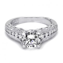Tacori Crescent 18 Karat Engagement Ring HT2513RD7512X