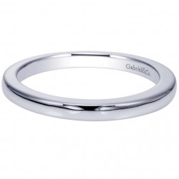 Gabriel 14 Karat Contemporary Wedding Band WB9057W4JJJ
