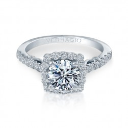Verragio Platinum Insignia Engagement Ring INS-7047