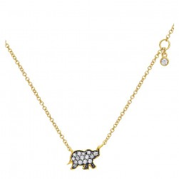 Gabriel Fashion 14 Karat Trends Necklace NK4521Y45JJ