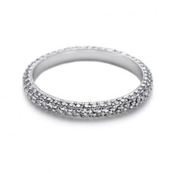 Tacori 2524ET 18 Karat Wedding Band