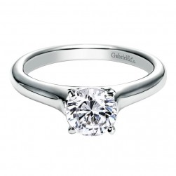 Gabriel 14 Karat Contemporary Engagement Ring ER6642W4JJJ