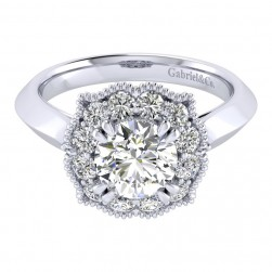 Gabriel 14 Karat Perfect Match Engagement Ring ER001C6ACW44JJ